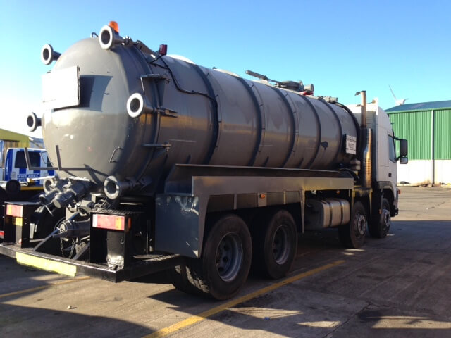 Volvo 4000 Gal Mild Steel Barrel