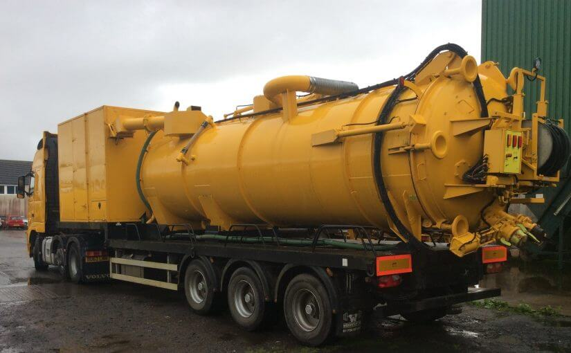 Air Mover Suction Tanker